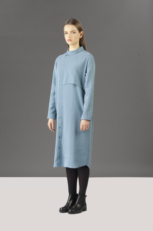 Kisho dress blue