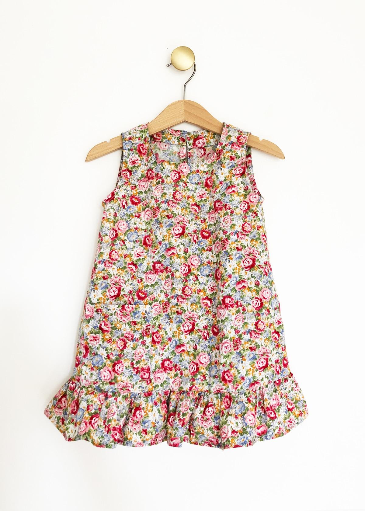 b2d8c52189 Little RWD Summer shirt, floral print